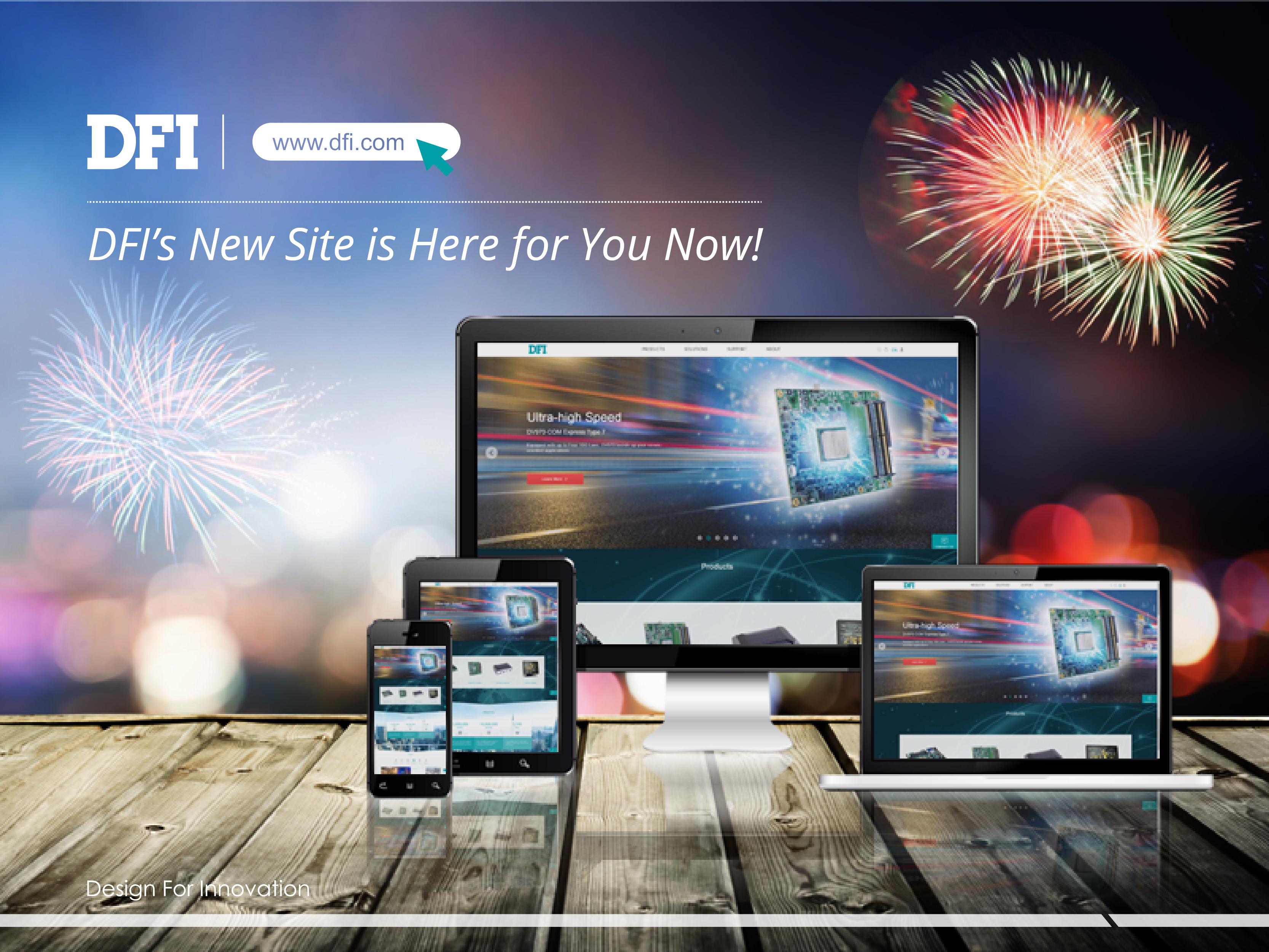 DFI's New Site is Here for You Now!