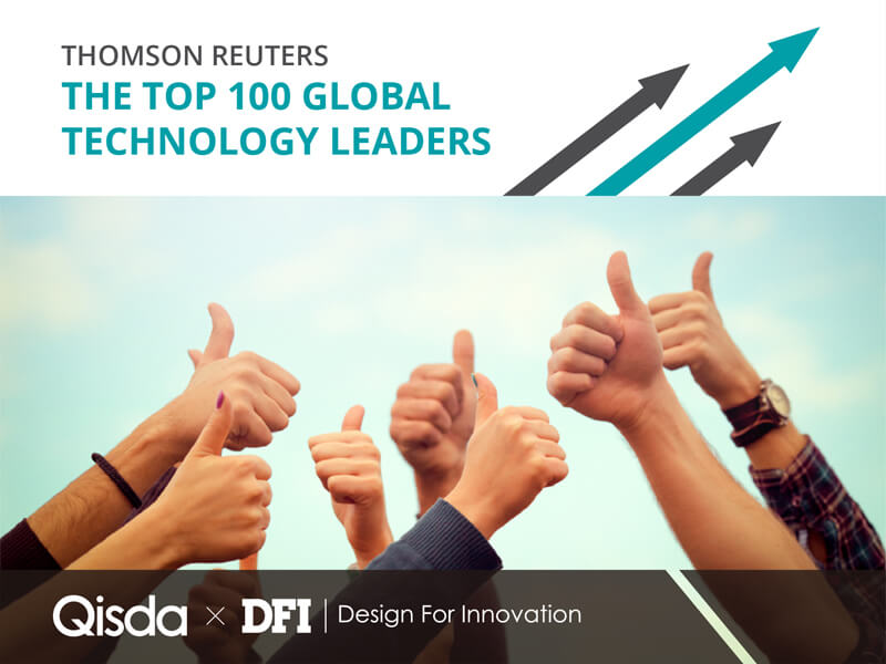 Qisda Named 2018 Thomson Reuters Top 100 Global Technology Leader