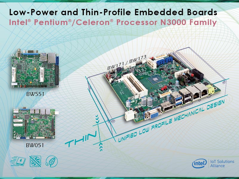 Introducing DFI's Low Power Embedded Boards with Optimized and Thin-Profile Designs